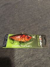 "Sebile 3"" Lipless Seeker Action First 3/4 Oz External Lure (Red/Orange Craw)"