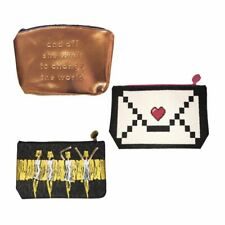 Lot of 3 IPSY Makeup Bags Zippered Pouches
