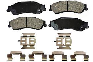 Disc Ceramic Brake Pad Set Rear for Chevrolet GMC Isuzu Oldsmobile