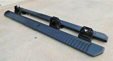 2015-2020 FORD F150 CREW CAB RUNNING BOARDS OEM BLACK PLASTIC