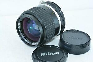 Nikon Ai-s 28mm f2 28 2.0 AIS NIKKOR MF Lens From Japan (Near MINT)