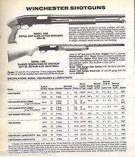 1991 WINCHESTER Model 1300 Pistol-Grip Defender, Ranger Semi-Auto SHOTGUN AD