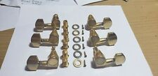faded and worn for vintage look gold 3 X 3 rotomatic tuners from Epiphone