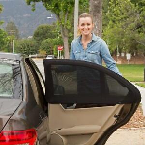 Car Window Sun Shade Curtain Universal Vehicle Interior Sun UV Mosquito Mesh Net