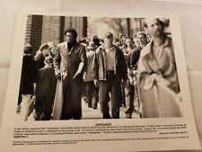 2 Press Photos Actors Bruce Willis & Samuel L. Jackson Unbreakable 2000 Movie