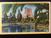 Vintage Postcard>1946>Elks Club>MacArthur Park>Los Angeles>California