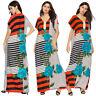Muslim Women Long Maxi Dress Embroidery Robe Abaya Ethnic Dubai Boho Kaftan Arab