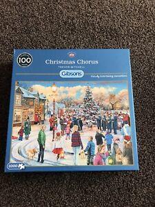 Jigsawchristmas Chorus Gibsons 1000 Piece