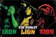 BOB MARLEY - IRON LION ZION POSTER 24x36 - MUSIC 4269