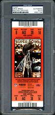 Drew Brees Autographed Signed Super Bowl XLIV Ticket Saints PSA/DNA 83971794