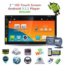 """Android 5.1 Quad Core 6.95"""" Double 2 Din Car Radio Stereo Dvd Gps Player 3G Wifi"""