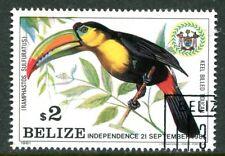 BELIZE 1981 KEEL-BILLED TOUCAN BIRD - ONLY BIRD IN SET!