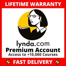 👑 LYNDA Premium Private Account👑 +SPECIAL BONUS! 🎁