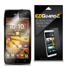2X EZguardz LCD Screen Protector Skin Cover HD 2X For Kyocera Hydro Icon (Clear)
