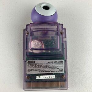 Pocket Camera Gameboy GB Nintendo MGB-006 Clear Purple Game Boy
