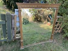 More details for large antique french mirror