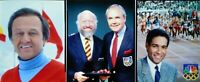"LD45-66  JIM McKAY  BRYANT GUMBLE  (3) 4""x5"" Transparencies OLYMPIC BROADCASTERS"