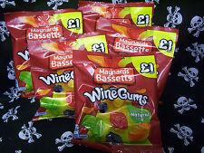 ~10 BAGS MAYNARDS BASSETTS WINE GUMS 165g BAGS~ PARTY OFFICE FRUIT SWEETS