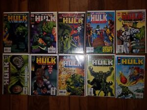 MARVEL COMICS LOT: INCREDIBLE HULK #431-440 (1997)