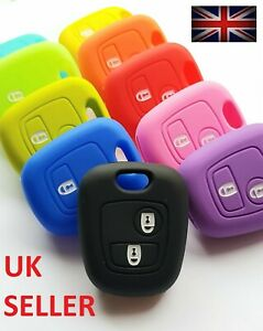 TOYOTA KEY AYGO 2 BUTTON KEY CASE COVER FOB REMOTE SILICONE PROTECTOR 5