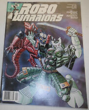Robo Warriors Magazine Death Rex & Bozo September 1988 081914R