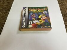 Disney's Magical Quest 2 Starring Mickey & Minnie Game Boy Advance new gba