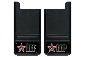 Mud Flap Set RBP 757104-RB Ford F250/350 Dually 11-C Rear Black