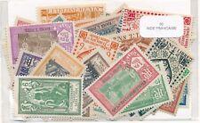 India Francesa    US  Paquete  50 sellos diferentes
