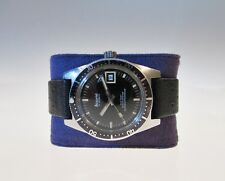 Rare Vintage Accurist 600 Automatic Divers watch All Stainless Steel Gents