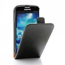 Samsung Galaxy S4 I9500 I9505 I9515 VE Flip Handy Tasche Echt Leder Klapp Hülle