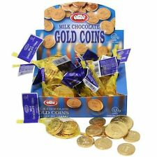 8 Small Nets of Milk CHOCLATE GOLD COINS.....Chanukka Gelt..... Hannukah Yom Tov