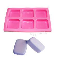 Geometric Basic Plain Rectangle Rounded Corners Soap Silicone Mold