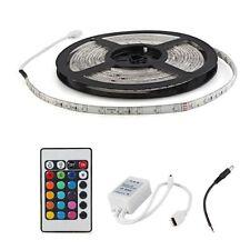 5m 3528 300 LED Wasserdichte Leiste +24Taste Fernbedienung +Kontroller +Kabel GY