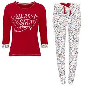 AVON Merry Kissmas PJ's Size 18-20 Large Brand New Christmas Gift