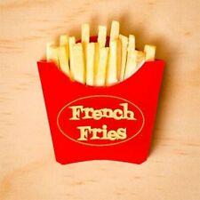 Martini & Slippers French Fries Brooch ~ BNIB.