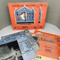 "6x Gilbert & Sullivan Records Bundle of Classical 12"" Vinyl LPs M084"
