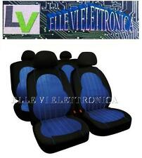 54933 Set Coprisedili Fodere Colore Blu ALYSSA AIRBAG Daewoo Matiz