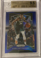 2019-20 Prizm Blue Giannis Antetokounmpo BGS 9.5 True Gem /199