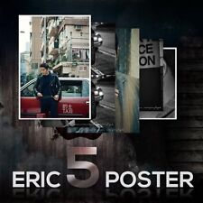 Eric 5 Posters in Hongkong (Shinhwa) in unfolded hard tube [Official Poster] New