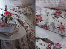 IKEA Twin Duvet Cover Quilt Cover 2pc Set EMMIE SOT Pink Roses French Country