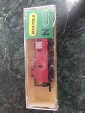 MINITRIX N 9MM 3272 Red Caboose in Original Packaging