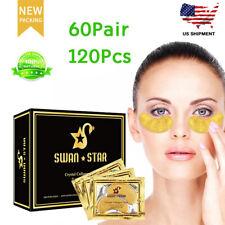 120Pcs Gold Eye Treatment Masks Under Eye Patches Under Eye Bags Treatment