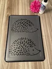 Hedgehog A4 Stencil  300 Micron Template  Shabby Chic  Animals Reusable Decor
