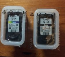 EMPTY  Canon CL-511 & PG-510 Ink Cartridges