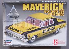 Lindberg 1964 Dodge Maverick 330 Super Stock  1/25 Model Kit   #D1