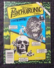 1996 PSYCHOTRONIC Video Magazine #23 FN+ Clint Howard