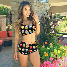Women Bandage High Waist Bikini Set Padded Push Up Swimwear Swimsuit Bathingsuit