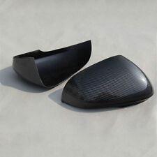 For Jaguar XE XK XF XJ XKR Add On Carbon Fiber Mirror Cover 2012 2013 2014 +