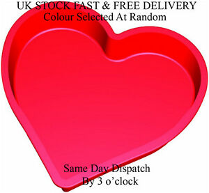 Silicone Bakeware 26 x 26 x 6.5 cm Silicone Heart Shaped Cake Pan Mould Vincenza
