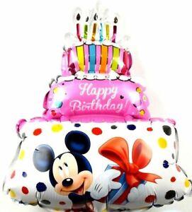 Kein Helium Ballon! Disney Micky Maus Geburtstag Minnie Folienballon Geschenk